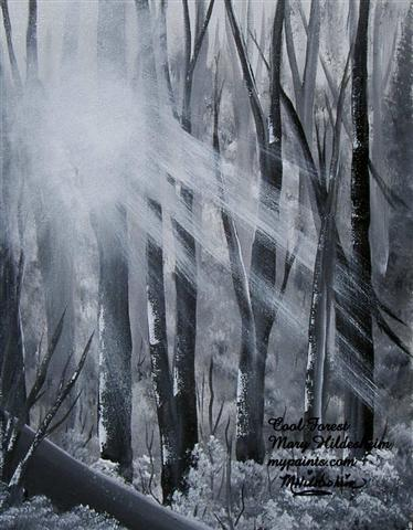 Cool Forest by Mary Hildesheim
