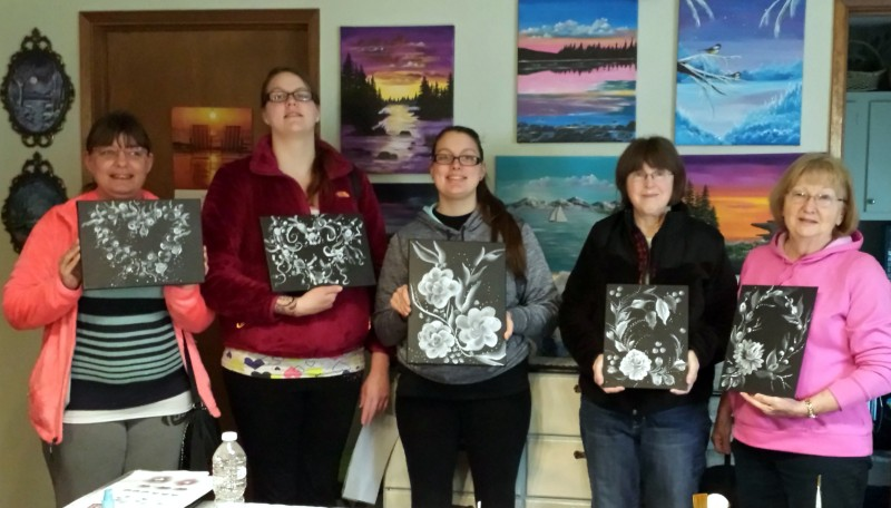 painting class 1073