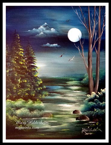 romantic moon (Small)